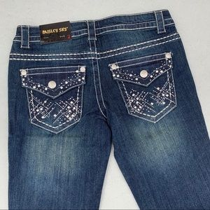 Paisley Sky Low Rise Bootcut Size 4 Jeans